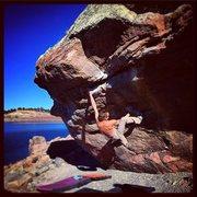 Rock Climbing Photo: Kahuna Roof.