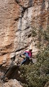 Rock Climbing Photo: Tamara Hastie rolling out the roof.  Wade Forrest ...