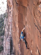 Rock Climbing Photo: Mike Holland on one of the most beautiful single p...