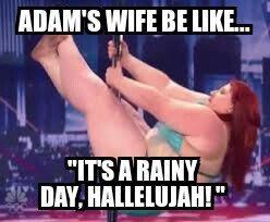 Adam's wife