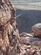 Rock Climbing Photo: Eriko on Right Road Lost.