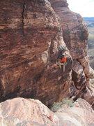 Rock Climbing Photo: John on Virtuous Pagans.
