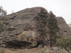 Rock Climbing Photo: The Turret from the SW