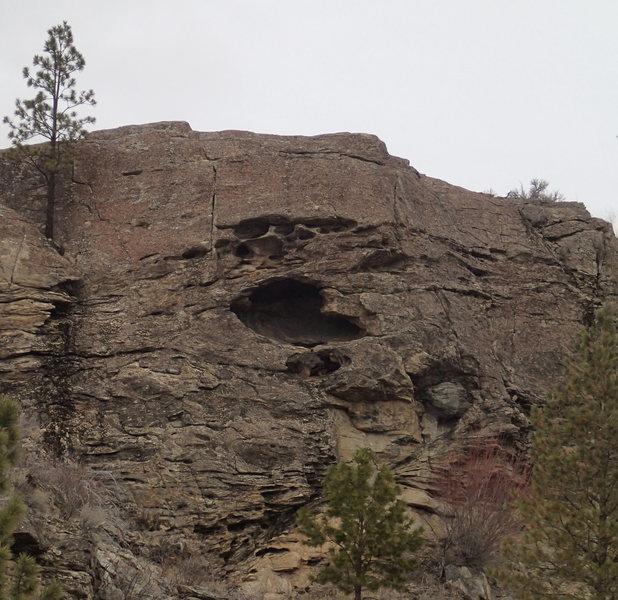 Rock Climbing Photo: Kiva Cliff