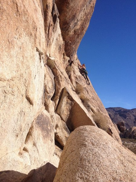 Jordan Otto on I Love My Marine 5.5 sport. Joshua Tree.