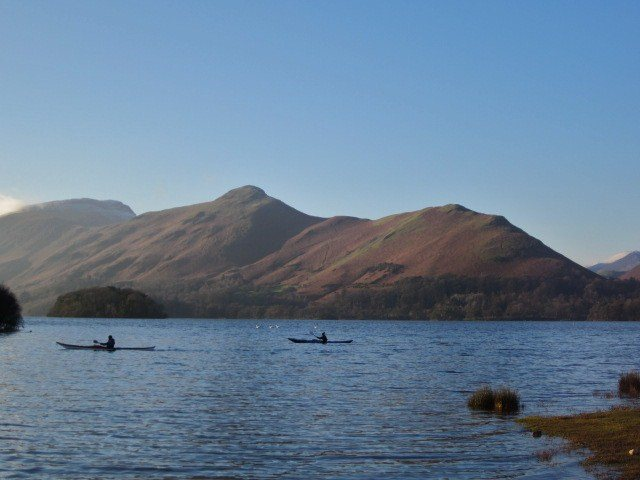 Derwentwater 28th Dec Lake District