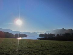 Rock Climbing Photo: A sunny 28th Dec Derwentwater lake ,Keswick