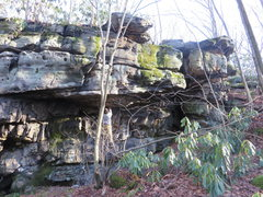 Rock Climbing Photo: Shot of a different roof section down the road fro...