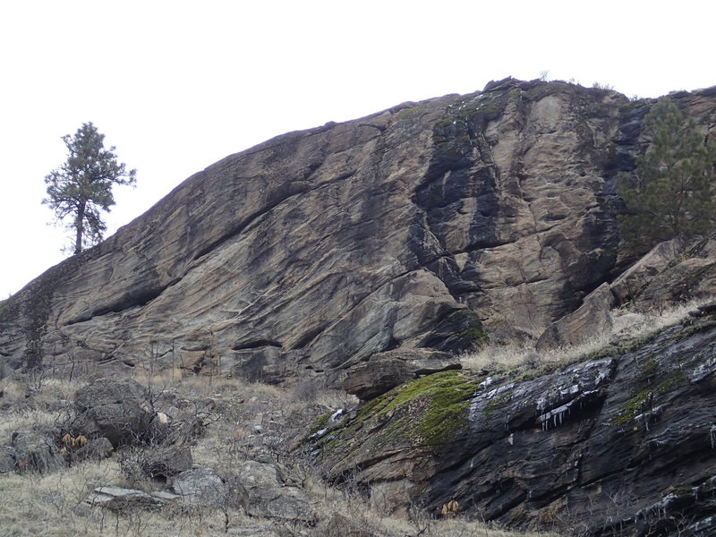 South Face from Chewiliken Creek