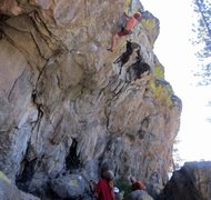 Rock Climbing Photo: Totally Chawsome 12b, Big Chief, Donner, ca