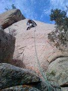Rock Climbing Photo: Butt shot on Slablander.