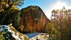 Rock Climbing Photo: Gyrus' northwest face.