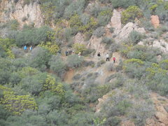 Rock Climbing Photo: Busy Day on the Mishe Mokwa Trail