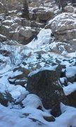 Rock Climbing Photo: Behind castle rock across the creek