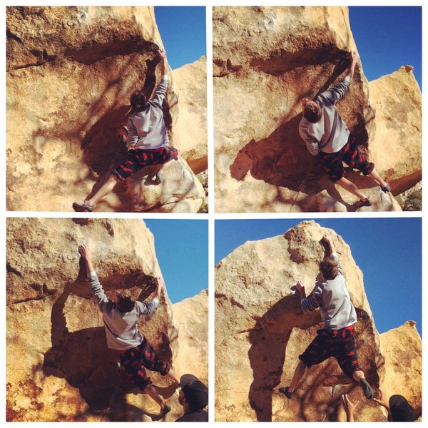 Rock Climbing Photo: La Migra (V3)