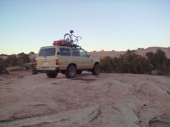 Rock Climbing Photo: Slick rock camping just outside the west boundary ...