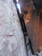 Rock Climbing Photo: The Crevasse.