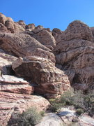 Rock Climbing Photo: From here, the corner of the sunny side of Civ, go...