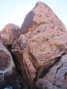 Rock Climbing Photo: A couple cairns will bring you under this formatio...