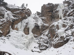 Rock Climbing Photo: RMNP, Jaws Falls, Dec. 29, 2014.