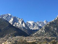 Rock Climbing Photo: Whitney massif