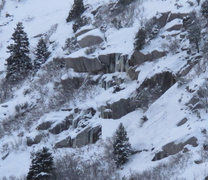 Rock Climbing Photo: East part of Scruffy Band area, Dec 28, 2014