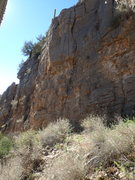 Rock Climbing Photo: Classic rope/rock pic of the route