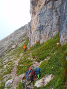 Rock Climbing Photo: This is what the start looks like - the climber is...