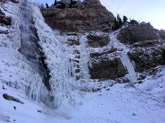 Rock Climbing Photo: Bridal Veil 12/30