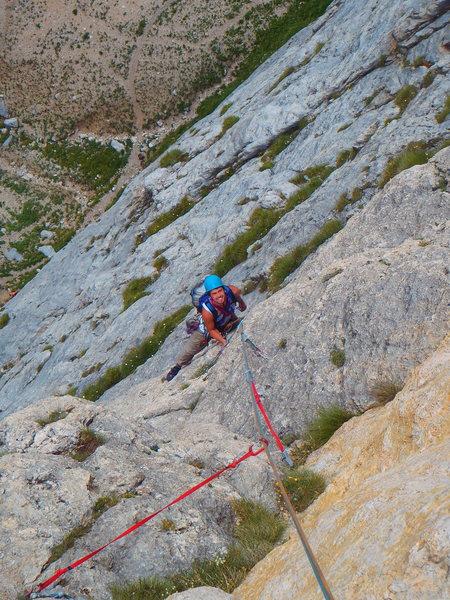 Rock Climbing Photo: Skanky gear at times