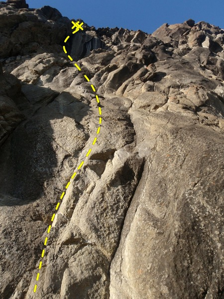 Rock Climbing Photo: A few cams can be used between bolts, ether way br...