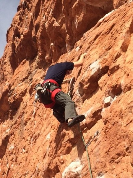 Rock Climbing Photo: Second Coming in Saint George