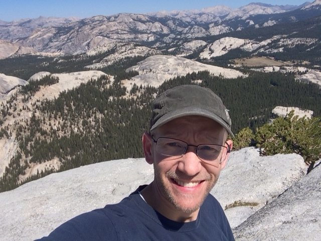 Yosemite!  Top of Fairview Dome