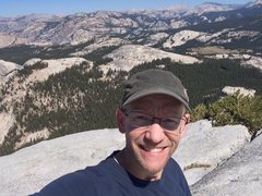 Rock Climbing Photo: Yosemite!  Top of Fairview Dome