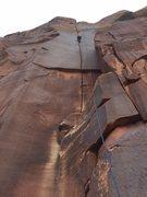Rock Climbing Photo: Supercrack in the Desert!