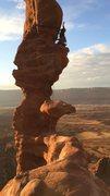 Rock Climbing Photo: Diving board
