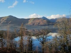 Rock Climbing Photo: Catbells Mt  across Derwentwater.. December 2014