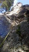 Rock Climbing Photo: At the anchors