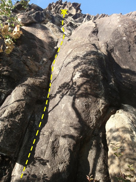 Landmine Area is another long, fun route so watch your rope ends on the rappel.