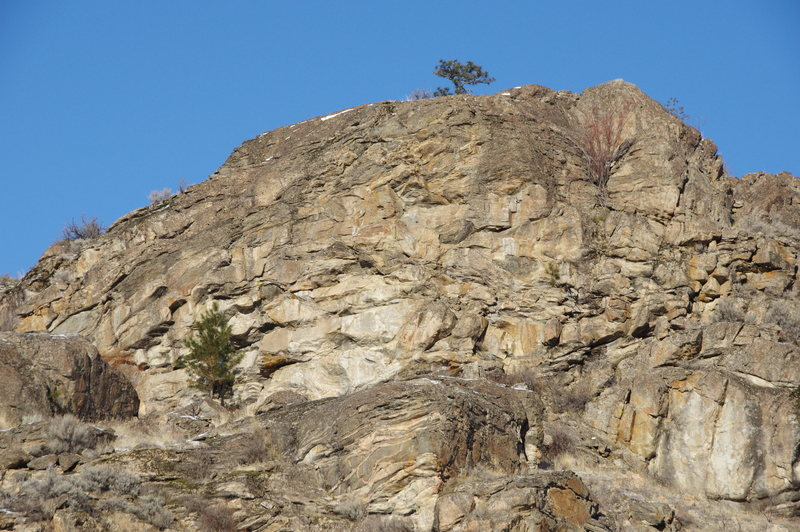 Rock Climbing Photo: Lower SE Face