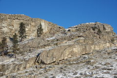 Rock Climbing Photo: Upper Crag from the SW