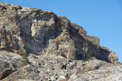 Rock Climbing Photo: Upper East Face