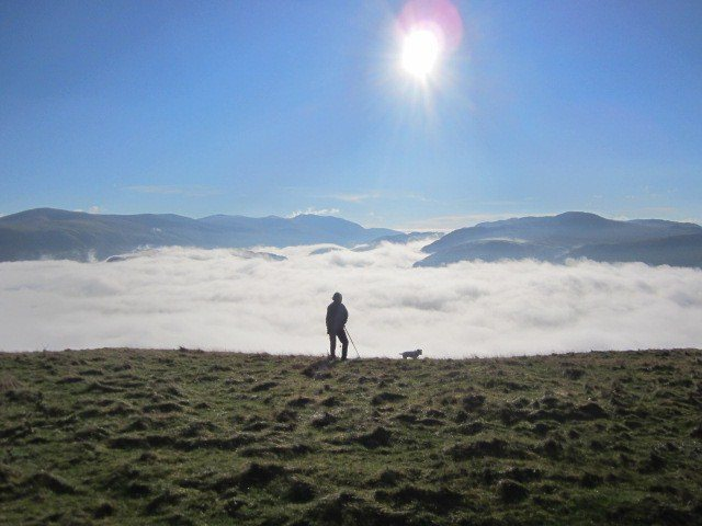 Rock Climbing Photo: Above Borrowdale on Latrigg