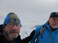 Rock Climbing Photo: Summit area Blencathra Mt.Boxing Day 2014