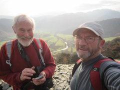 Rock Climbing Photo: Castle Crag Borrowdale 2014
