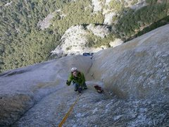 Rock Climbing Photo: Lurking Fear - Parting shot by the party that pass...