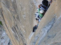 Rock Climbing Photo: Prow solo - no idea what to do with my haulbags