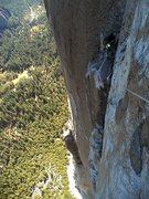 Rock Climbing Photo: Organizing ropes on Wino Tower