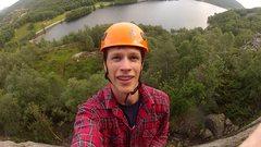 Rock Climbing Photo: Hommelandsvaet, Tengesdalsvatnet, Rogaland 2013
