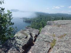 Rock Climbing Photo: Lake Sup!